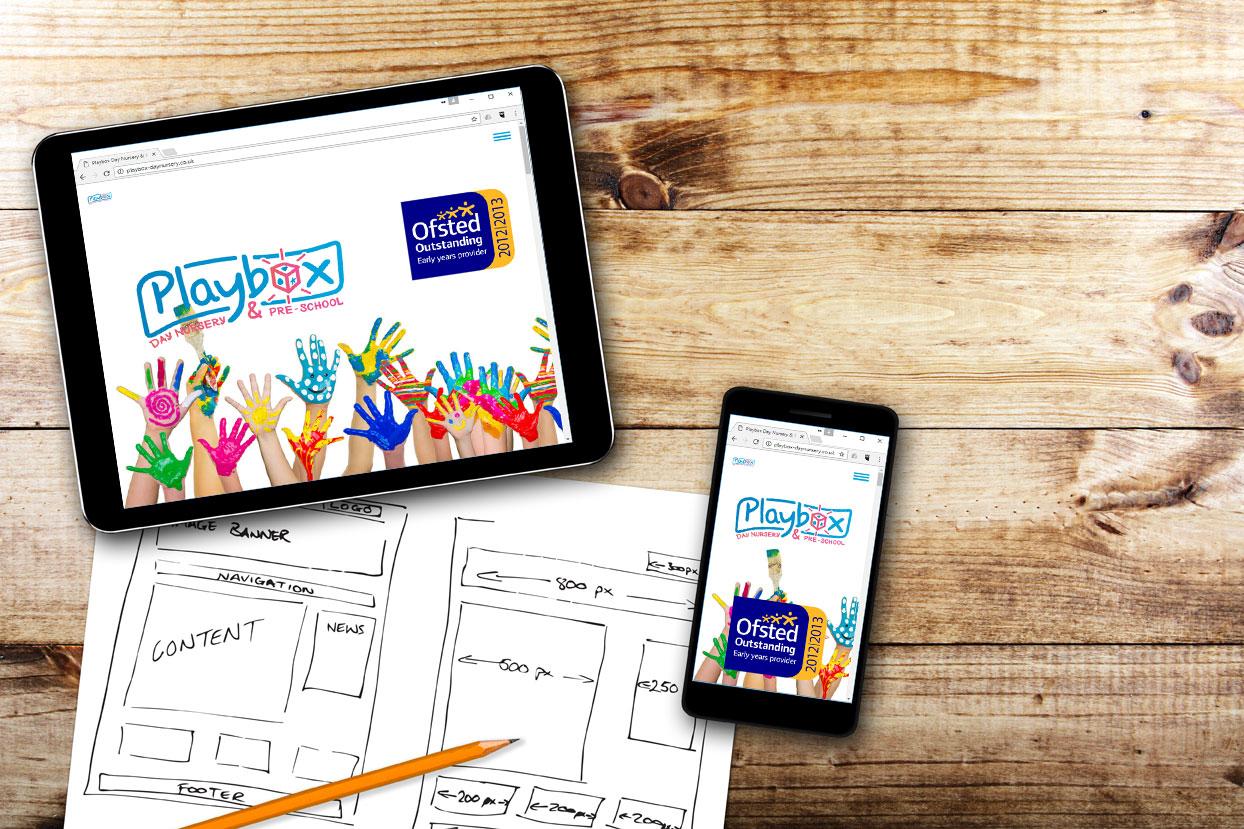 Responsive Website – Nursery School
