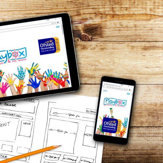 Responsive Website - Nursery School