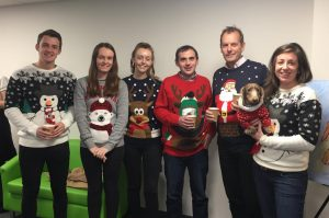 Christmas Jumper Day 2017