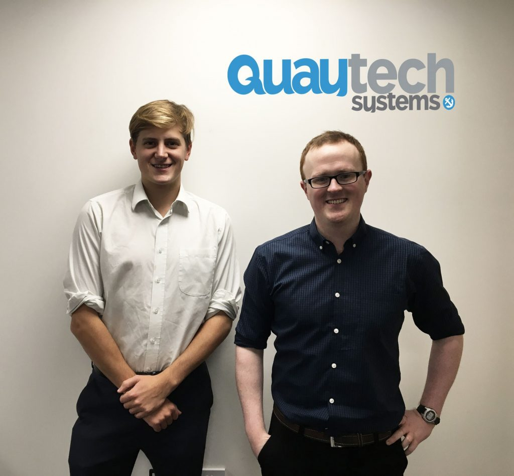 New Starters – Will and Ben the QuayTech men